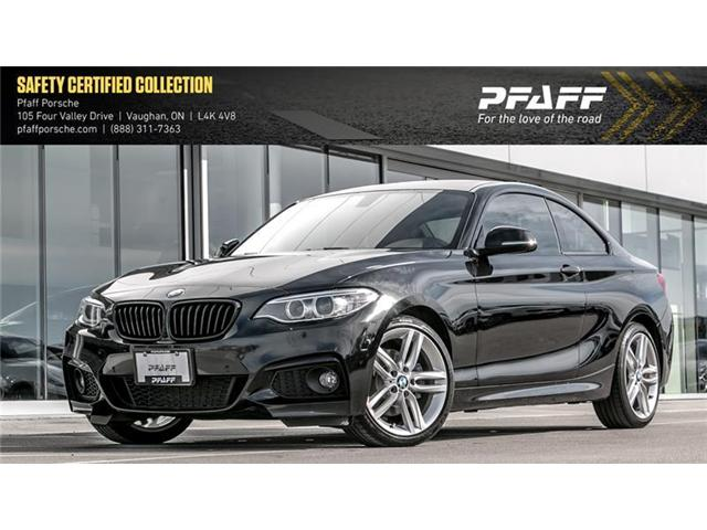 2017 BMW 230i xDrive Coupe (Stk: U7380A) in Vaughan - Image 1 of 19