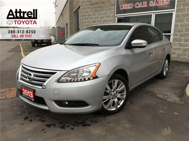 2013 Nissan Sentra BLACK FRIDAY SPECIAL SV LEATHER, SUNROOF, B.CAM, A (Stk: 42136AB) in Brampton - Image 1 of 27