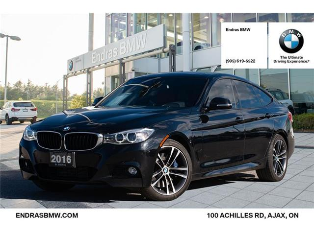 2016 BMW 335i xDrive Gran Turismo (Stk: 35237A) in Ajax - Image 1 of 22