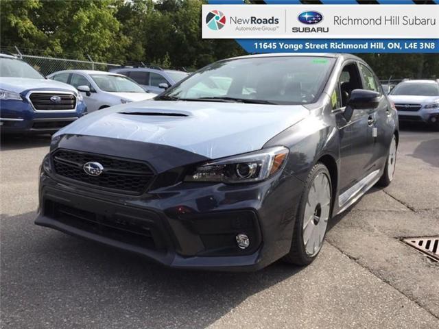 2019 Subaru WRX Sport-Tech w/Eyesight (Stk: 32161) in RICHMOND HILL - Image 1 of 19
