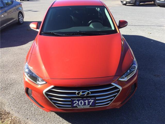 2017 Hyundai Elantra GL (Stk: svg323) in Morrisburg - Image 1 of 6