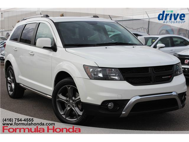 2017 Dodge Journey Crossroad (Stk: B10595) in Scarborough - Image 1 of 29