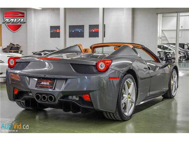 2014 Ferrari 458 SPIDER  (Stk: ) in Oakville - Image 10 of 50