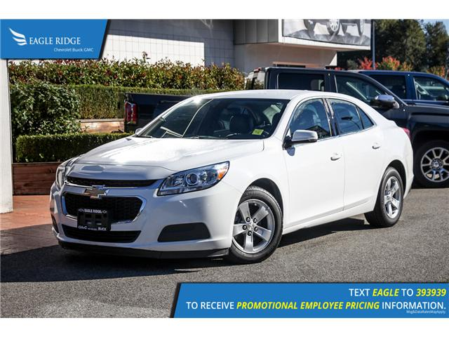 2015 Chevrolet Malibu 1LT (Stk: 158966) in Coquitlam - Image 1 of 14