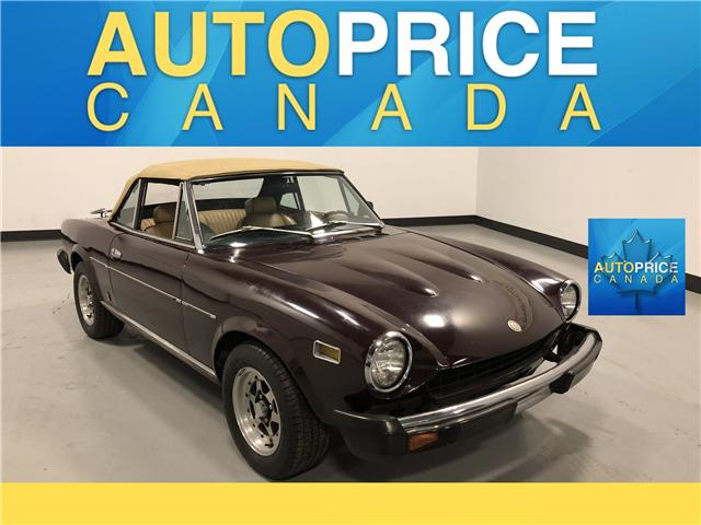 1978 Fiat 124 SPYDER 2DR CONVERTIBLE (Stk: H9780) in Mississauga - Image 1 of 15