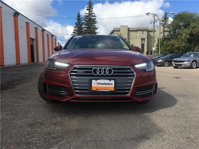 2018 Audi A4 2.0T Komfort (Stk: F142) in Saskatoon - Image 2 of 22