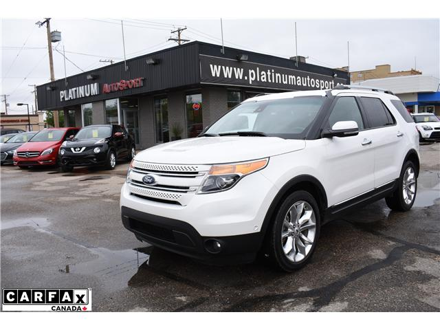2013 Ford Explorer Limited Awd Flex Fuel Accident Free Car Proof