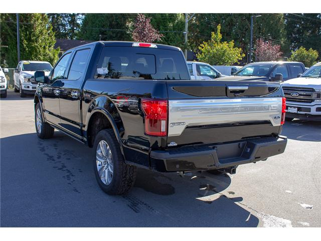 2018 Ford F-150 Platinum (Stk: 8F12035) in Surrey - Image 5 of 30