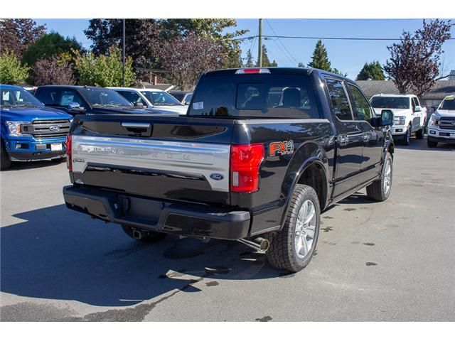 2018 Ford F-150 Platinum (Stk: 8F12035) in Surrey - Image 7 of 30