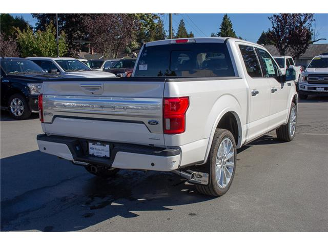 2018 Ford F-150 Platinum (Stk: 8F12320) in Surrey - Image 7 of 28