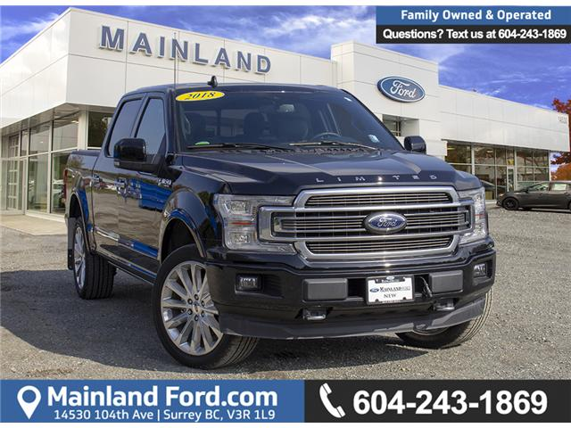 2018 Ford F-150 Limited (Stk: 8F19812) in Surrey - Image 1 of 30