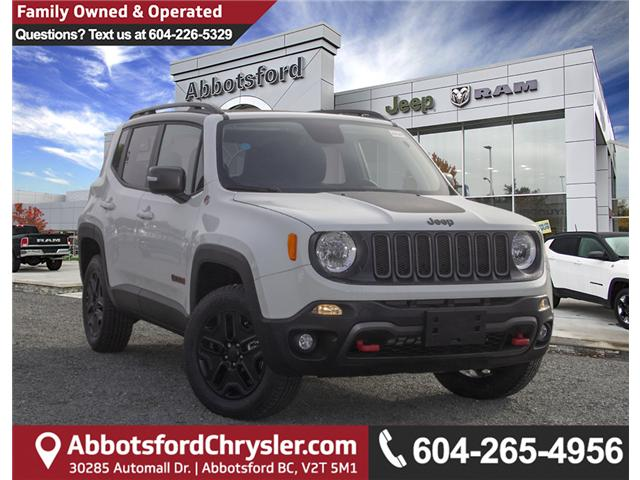 2018 Jeep Renegade Trailhawk (Stk: JH92557) in Abbotsford - Image 1 of 27