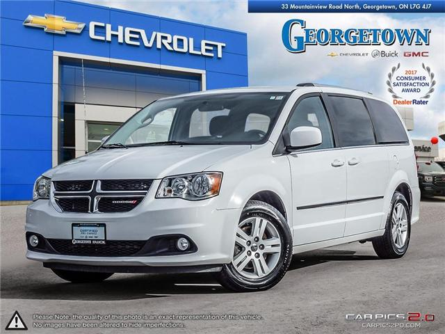 2017 Dodge Grand Caravan Crew (Stk: 28112) in Georgetown - Image 1 of 27