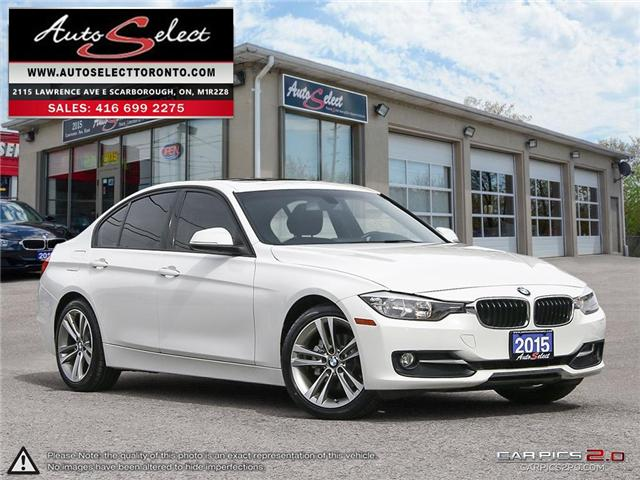 2015 BMW 320i xDrive (Stk: 15SPN1T7) in Scarborough - Image 1 of 28