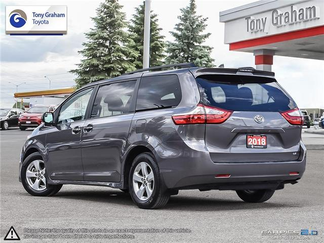 2018 Toyota Sienna LE 8-Passenger (Stk: U9021) in Ottawa - Image 4 of 26