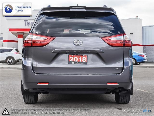 2018 Toyota Sienna LE 8-Passenger (Stk: U9021) in Ottawa - Image 5 of 26