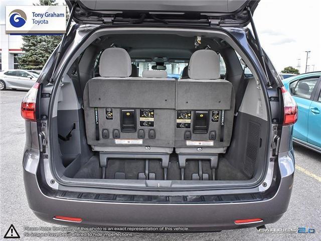 2018 Toyota Sienna LE 8-Passenger (Stk: U9021) in Ottawa - Image 11 of 26