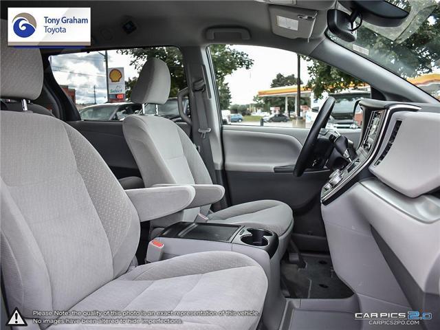 2018 Toyota Sienna LE 8-Passenger (Stk: U9021) in Ottawa - Image 22 of 26