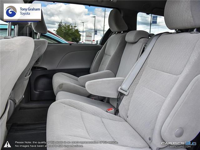 2018 Toyota Sienna LE 8-Passenger (Stk: U9021) in Ottawa - Image 23 of 26