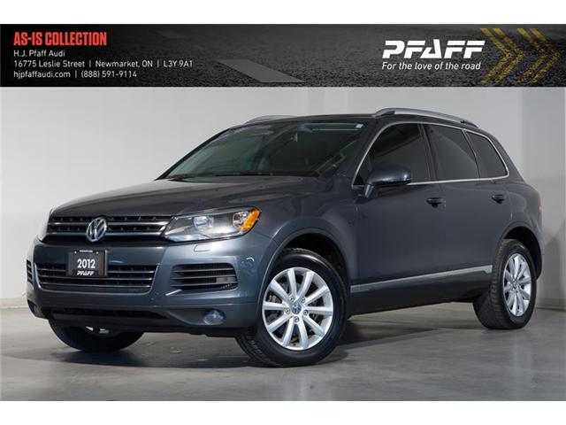 2012 Volkswagen Touareg 3.0 TDI Highline (Stk: 52909A) in Newmarket - Image 1 of 18