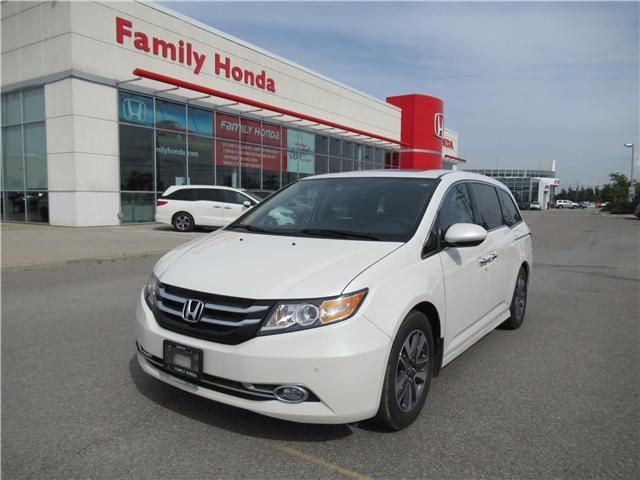 2017 Honda Odyssey Touring (Stk: 7504252) in Brampton - Image 1 of 30