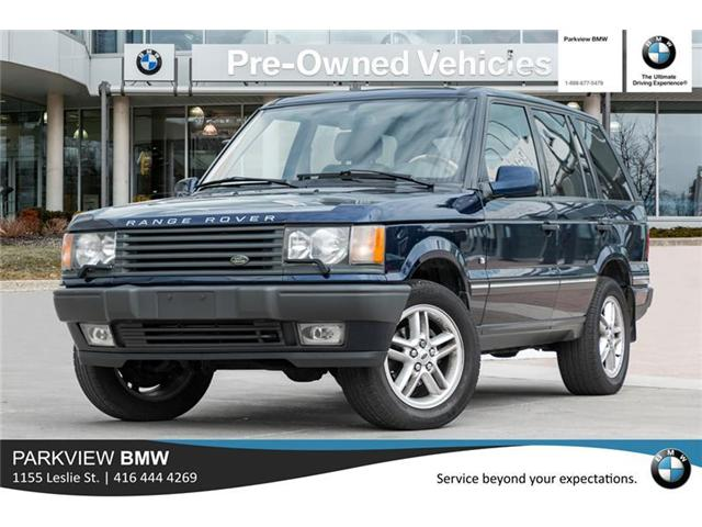 2001 Land Rover Range Rover 4.6 HSE (Stk: 301875A) in Toronto - Image 1 of 21
