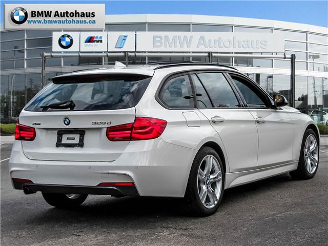 2018 BMW 328d xDrive Touring (Stk: P8533) in Thornhill - Image 5 of 26