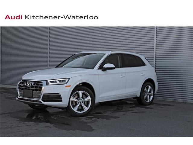 2018 Audi Q5 2.0T Progressiv (Stk: AQ4856) in Kitchener - Image 1 of 20