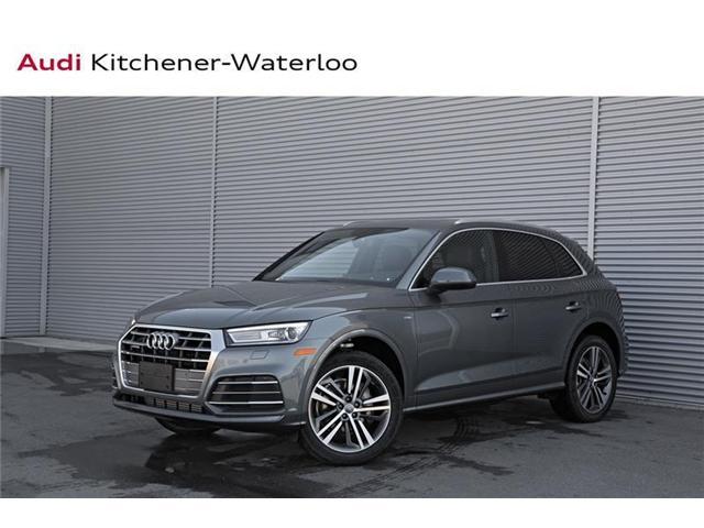 2018 Audi Q5 2.0T Progressiv (Stk: AQ859Z) in Kitchener - Image 1 of 20