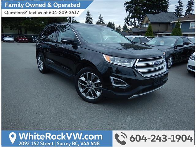 2015 Ford Edge Titanium (Stk: VW0697B) in Surrey - Image 1 of 16