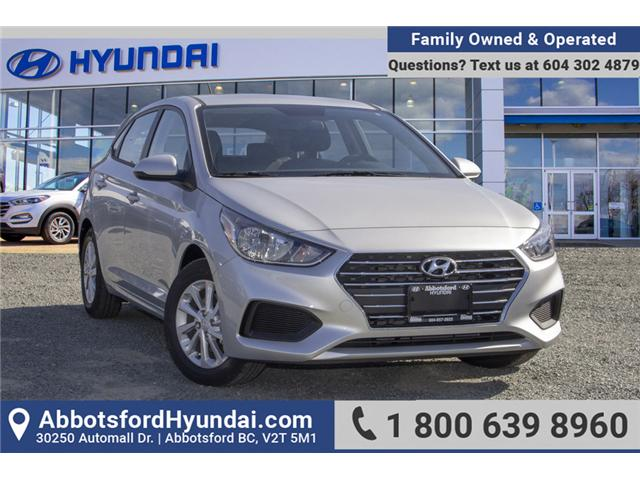 2019 Hyundai Accent Preferred (Stk: KA046546) in Abbotsford - Image 1 of 27