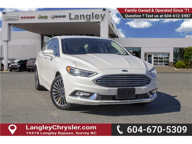 2017 Ford Fusion Titanium (Stk: EE893770A) in Surrey - Image 1 of 25