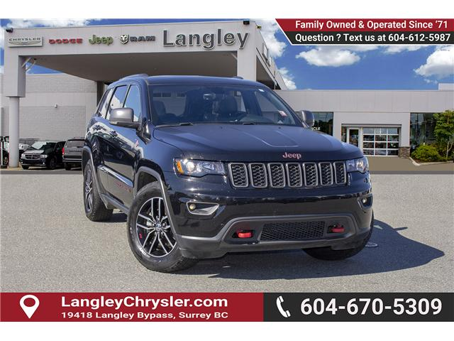 2018 Jeep Grand Cherokee Trailhawk (Stk: EE898460) in Surrey - Image 1 of 29