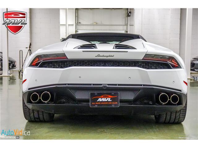 2017 Lamborghini Huracan LP610-4 (Stk: ) in Oakville - Image 10 of 50