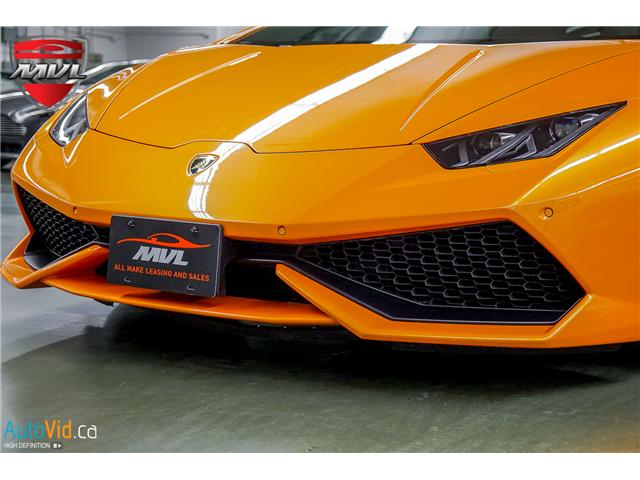 2015 Lamborghini Huracan LP610-4 (Stk: ) in Oakville - Image 18 of 39