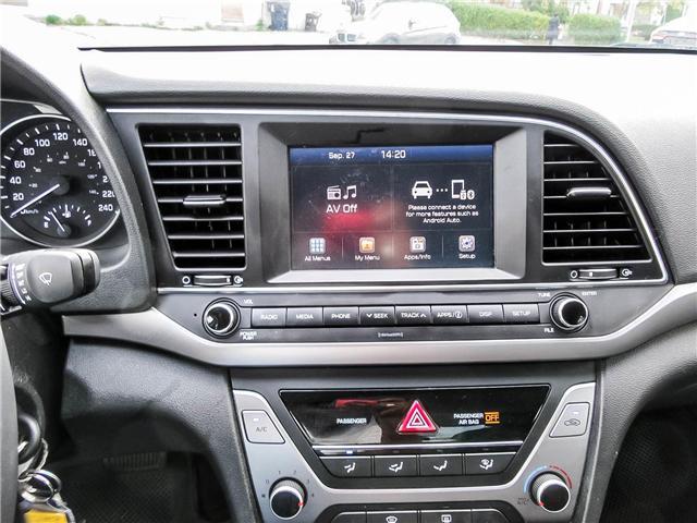 2017 Hyundai Elantra GL (Stk: U06285) in Toronto - Image 19 of 20