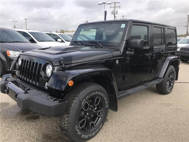 2018 Jeep Wrangler JK Unlimited Sahara (Stk: 18WR4627) in Devon - Image 1 of 21