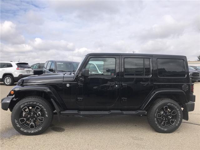 2018 Jeep Wrangler JK Unlimited Sahara (Stk: 18WR4627) in Devon - Image 2 of 21