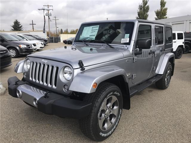 2018 Jeep Wrangler JK Unlimited Sahara (Stk: 18WR4023) in Devon - Image 1 of 21