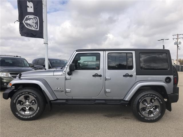 2018 Jeep Wrangler JK Unlimited Sahara (Stk: 18WR4023) in Devon - Image 2 of 21
