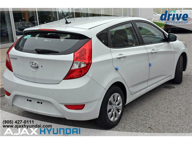 2017 Hyundai Accent L (Stk: 170069) in Ajax - Image 6 of 19