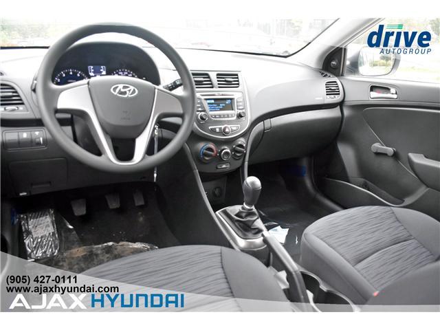 2017 Hyundai Accent L (Stk: 170069) in Ajax - Image 10 of 19