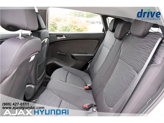 2017 Hyundai Accent L (Stk: 170069) in Ajax - Image 11 of 19
