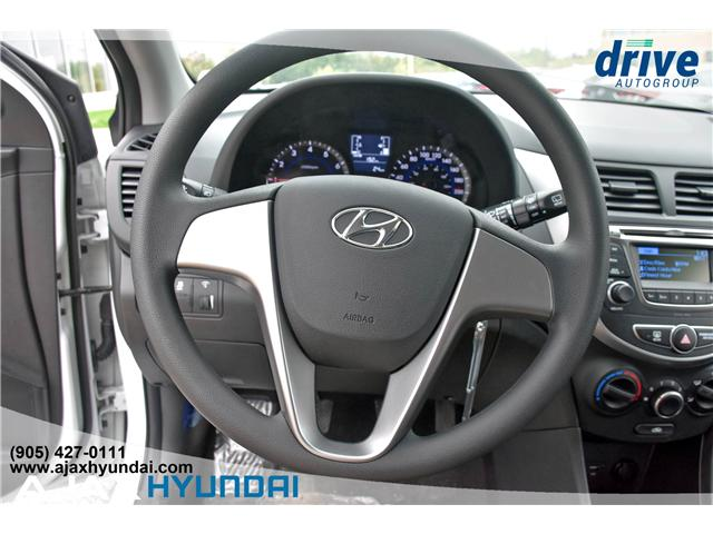 2017 Hyundai Accent L (Stk: 170069) in Ajax - Image 14 of 19
