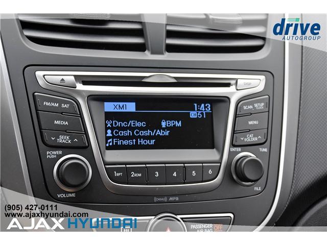 2017 Hyundai Accent L (Stk: 170069) in Ajax - Image 16 of 19