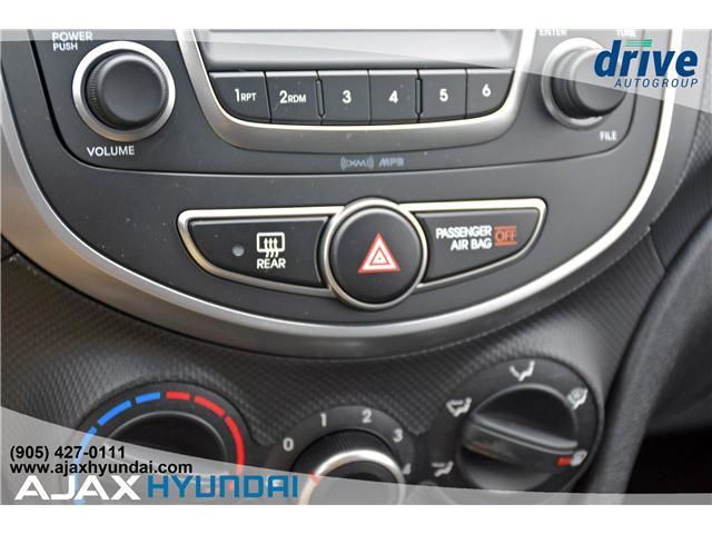 2017 Hyundai Accent L (Stk: 170069) in Ajax - Image 17 of 19