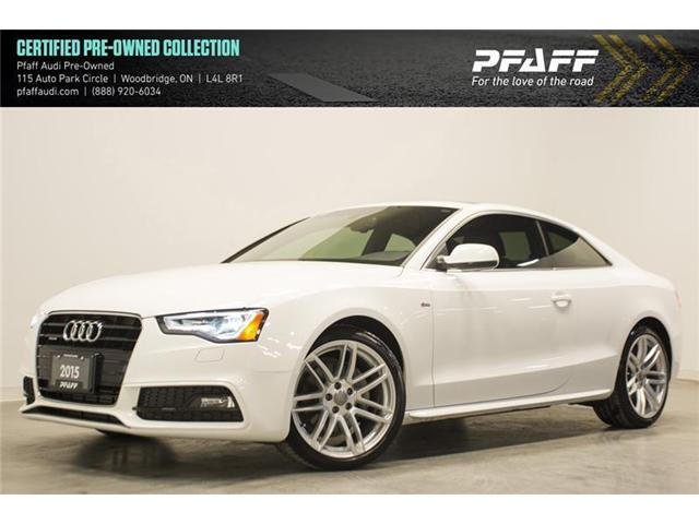 2015 Audi A5 2.0T Progressiv (Stk: C6204) in Vaughan - Image 1 of 15