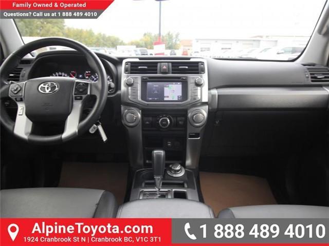 2015 Toyota 4Runner SR5 V6 (Stk: 5607427A) in Cranbrook - Image 10 of 18