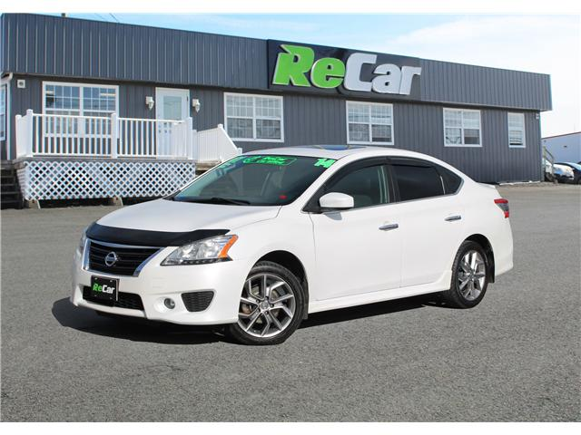 2014 Nissan Sentra 1.8 SR (Stk: 180931B) in Fredericton - Image 1 of 28