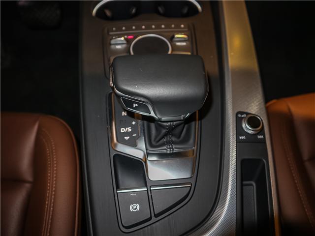 2018 Audi A4 2.0T Progressiv (Stk: 180474) in Toronto - Image 16 of 30